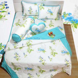 Chăn ga gối cotton Hàn Peaceful Spring