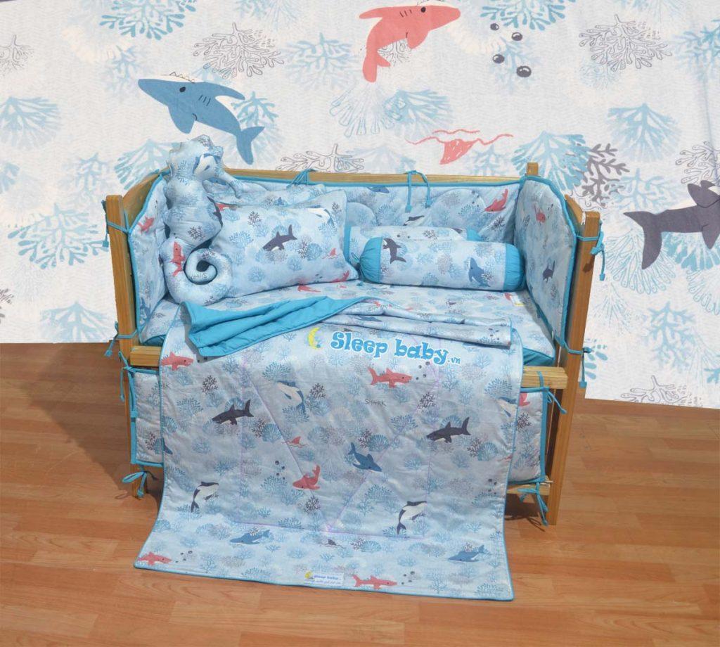 Quây giường cũi cho bé