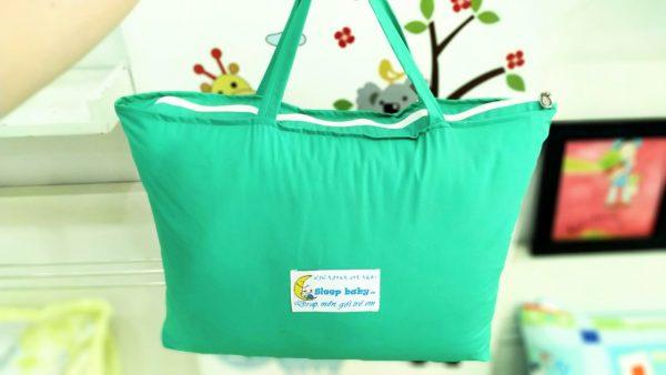 Túi đựng bộ chăn gối cho bé đi học