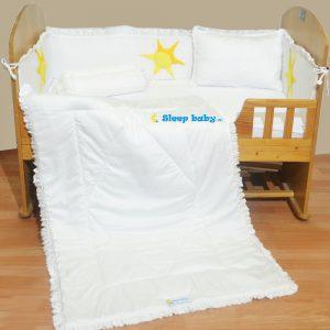 Chăn ga gối quây cũi trẻ em Sleep Baby