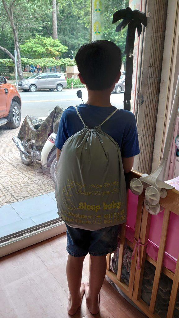 túi đựng túi ngủ gọn nhẹ
