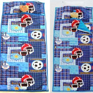 Túi ngủ cho bé tiểu học thể thao Sport Game