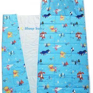 Túi ngủ mùa hè cho bé Gấu Pooh