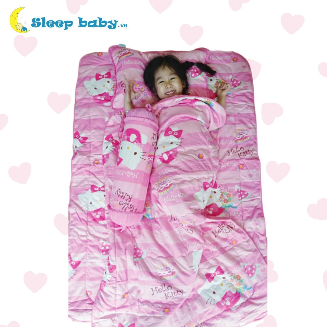 Bộ chăn gối cho bé đi học Sleep Baby