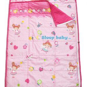 Túi ngủ cho bé đi học Nàng tiên hoa