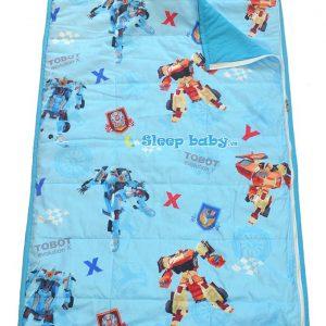 Túi ngủ cho bé đi học Tobot biến hình